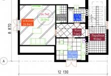 План 3 этажа